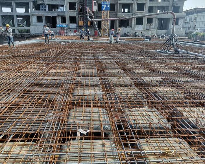 建筑模壳为抗震职业带去更多作用